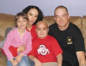 Channel Family- left to right: Tasha, Shawna, Dennis, Jr., Dennis, Sr.