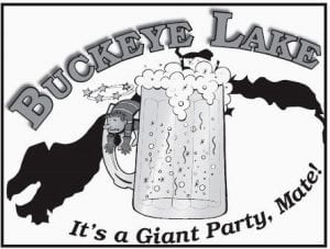 Here's the black and white version of Buckeye Lake's new logo. Courtesy photo.