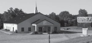 Union Township Trustees purchased the former Licking Baptist Church on Beaver Run Road for $310,000 at a Sept. 3 sheriff's sale. Beacon photo by Charles Prince.