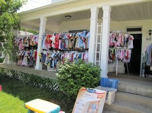 "The 7th Annual National Road Yard Sale in Licking County is next weekend. Some National Road (US 40) residents will host sales May 30 - June 2. There will be wall-to-wall sales from 9 a.m. to 5 p.m. on Friday, June 1 and Saturday, June 2 in the ""pike towns"" of Kirkersville, Hebron, Brownsville and Gratiot. Find bargains and enjoy the historic National Scenic Byway. Licking County has 32 miles of the National Road. Beacon file photo."