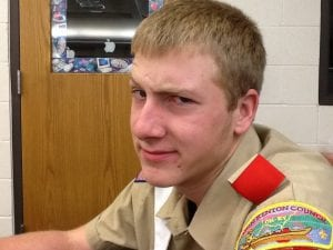 An Eagle Scout Court of Honor is set for Ammon Leo Keller at 3 p.m. on Sunday, Dec. 28, at The Church of Jesus Christ of Latter-Day Saints Church, Lancaster Ward Building, 1071 Sheridan Dr. NE. Ammon, the son of Glen and Karen Keller, is a member of Boy Scout Troop 115, Chief Tarhe District, Simon Kenton Council. For his Eagle Scout project, Ammon built a soccer field for the Millersport Elementary School. He thanks everyone that helped him with the project. Courtesy photo.