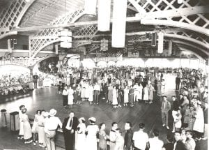 The historic Crystal Ball Room hosted the nation's top Big Bands during the Buckeye Lake Amusement Park's heyday. Courtesy photo.