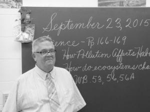 Paul David Ford will be honored Sunday for his 50 years of service to Lakewood Schools and the Hebron Christian Church. Beacon photo by Scott Rawdon.