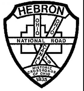Hebron Mayor Mike McFarland wants to consider alternatives to the village's current logo.