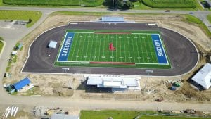 Lakewood's new football stadium will be dedicated at 6 p.m. on Thursday, August 17. The fall sports teams will also be introduced. Courtesy photo.